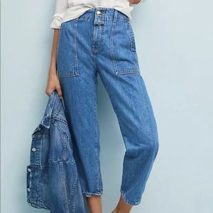 Anthropologie Closed Relax Cropped Jeans